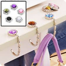 purse hook for table foldable table purse handbag hook portable hanger holder mirror hook
