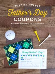 fathers day unique gifts remodelaholic free printable s day coupons