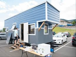 mines tiny house excited show off progress at solar decathlon