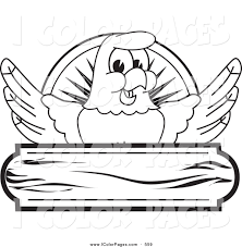 royalty free bald eagle mascot stock coloring page designs