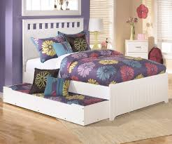 Full Size Trundle Bed With Storage Lulu B102 Full Size Panel Bed With Trundle Ashley Kids Furniture