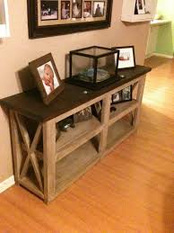 craftsman sofa table plans unusual ana white rustic x end diy