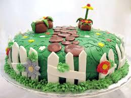 Classy 20 Garden Design Birthday Cake Design Inspiration Of Best