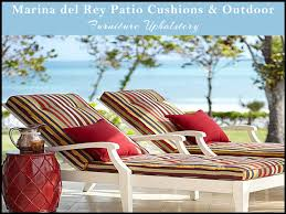 patio cushions marina del rey california outdoor furniture upholstery