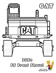 macho coloring pages tractors construction free