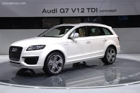 audi q7 w12 audi q7 left drive luxury suv