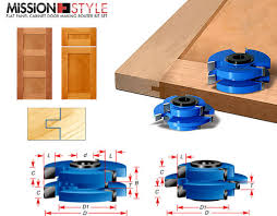 router bits for shaker style cabinet doors stile rail cabinet door cutter sets toolstoday com industrial