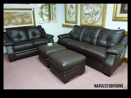 Natuzzi Brown Leather Sofa Natuzzi By Interior Concepts Furniture Natuzzi Leather Furniture