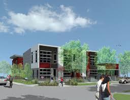 brick facade apartment designs imanada oslo uli case studies a