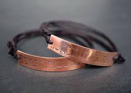 his and hers engraved bracelets 36 best couples items images on rings
