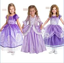 sofia the dress new frozen dress kids party gown dress casual baby