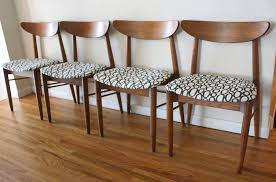 Mid Century Dining Room Mid Century Modern Sets Of Dining Chairs Picked Vintage