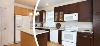 how to refinish cherry wood cabinets refresh oak cabinets in denver n hance wood refinishing of