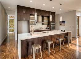 white kitchen countertops with brown cabinets quartz white countertops with brown cabinets stoneadd photo