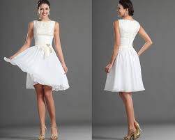 homecoming ribbon homecoming dresses 2014 fresh scoop a line knee length white