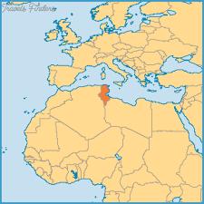 tunisia map tunisia map travelsfinders