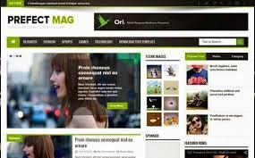 perfect mag magazine blogger template sora blogger templates
