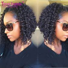 collections of wavy bob hairstyles for black women cute