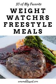 cuisine weight watchers 10 delicious weight watchers freestyle meals cuisine légère