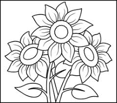 Sunflower Coloring Pages 16608 Bestofcoloring Com Sunflower Coloring Page