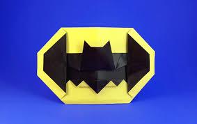 batman symbol john montroll gilad u0027s origami