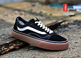 Jual Vans Tnt sepatu best sneaker vns oldskul black gum daftar update harga