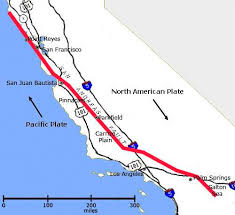san francisco fault map earthquakes san andreas and the inevitable