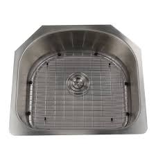 16 Gauge Kitchen Sink by Single D Shape Bowl Premium 16 Gauge Kitchen Sink With Grid And