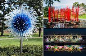 Botanic Garden New York Dale Chihuly S Glass Sculptures Takeover The New York Botanical