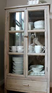 Small Glass Door Cabinet Storage For Dishes New Freestanding Glass Door Cabinet