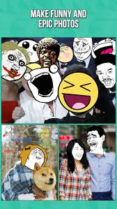 Memes Photo Editor - instarage photo editor meme rage face stickers by ichiban mobile