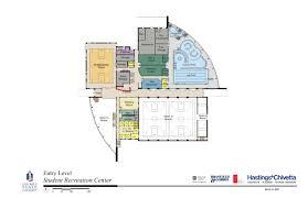 recreation center floor plan floor plans perspectives