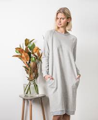 new pattern the jersey dress in collaboration with peppermint