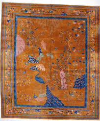 Home Theater Rug Antique Chinese Art Deco Carpet Oriental Rug