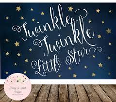 digital twinkle twinkle little star backdrop twinkle little star digital twinkle twinkle little star backdrop twinkle little star birthday backdrop twinkle little star baby shower backdrop