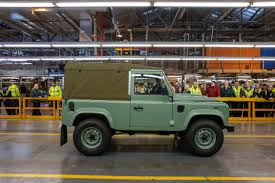 old land rover models the last land rover defender u2013 expedition portal