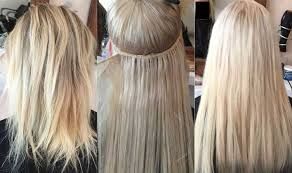 bonded hair extensions pre bonded hair extensions discrete hair studio