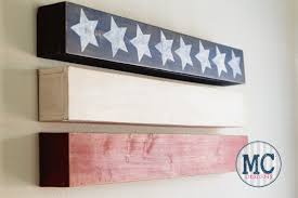 Pallet American Flag American Flag Decor Ideas The Weathered Fox