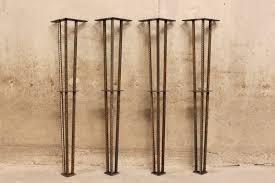 Metal Table Legs  Set Of  Legs  ReBar - Kitchen table legs