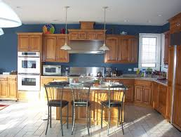 kitchen color ideas with oak cabinets home design ideas