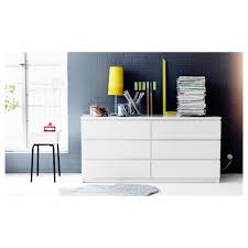 Ikea Pull Out Drawers Malm Chest Of 6 Drawers White 160x78 Cm Ikea