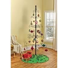 hohiya metal ornament display tree rotating