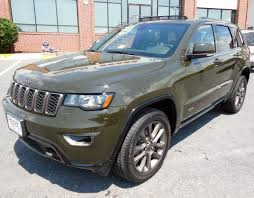 jeep cherokee green green jeep grand cherokee in virginia for sale used cars on