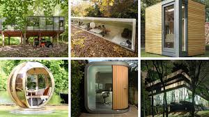 Office In A Shed Commune With Nature In These 6 Productivity Boosting Of Co Design