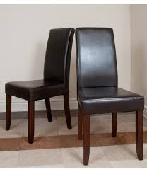 parson dining room chairs stunning faux leather parsons dining room chairs ideas house chair