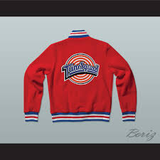 space jam sweater michael space jam tune squad letterman jacket style