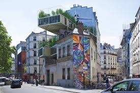 parasitic u201d apartments are taking over paris rooftops