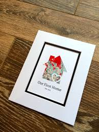 housewarming gifts for first home our first home christmas present for families personalized