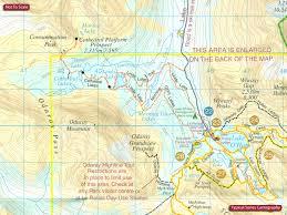 Banff National Park Map Canada Gem Trek Hiking Maps Of The Banff U0026 Jasper National Parks