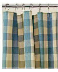 Country Plaid Valances Here U0027s A Great Price On Country Curtains Moire Plaid Shower Curtain
